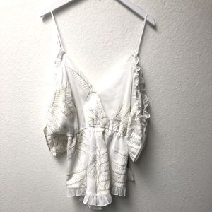 Lovers and Friends Low Back Romper